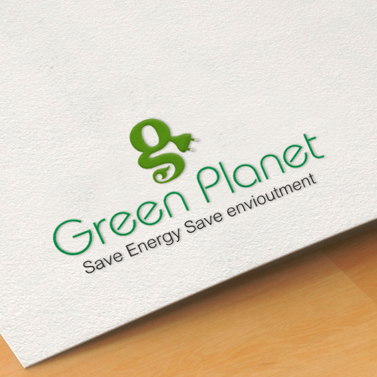 brainwaves – logo design – Green Planet