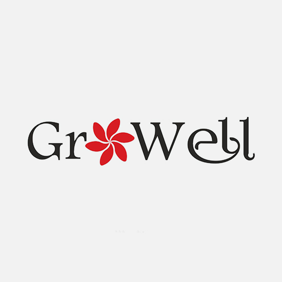 brainwaves – logo design – Growell
