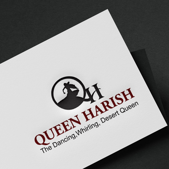 brainwaves – logo design – Queen Harish logo