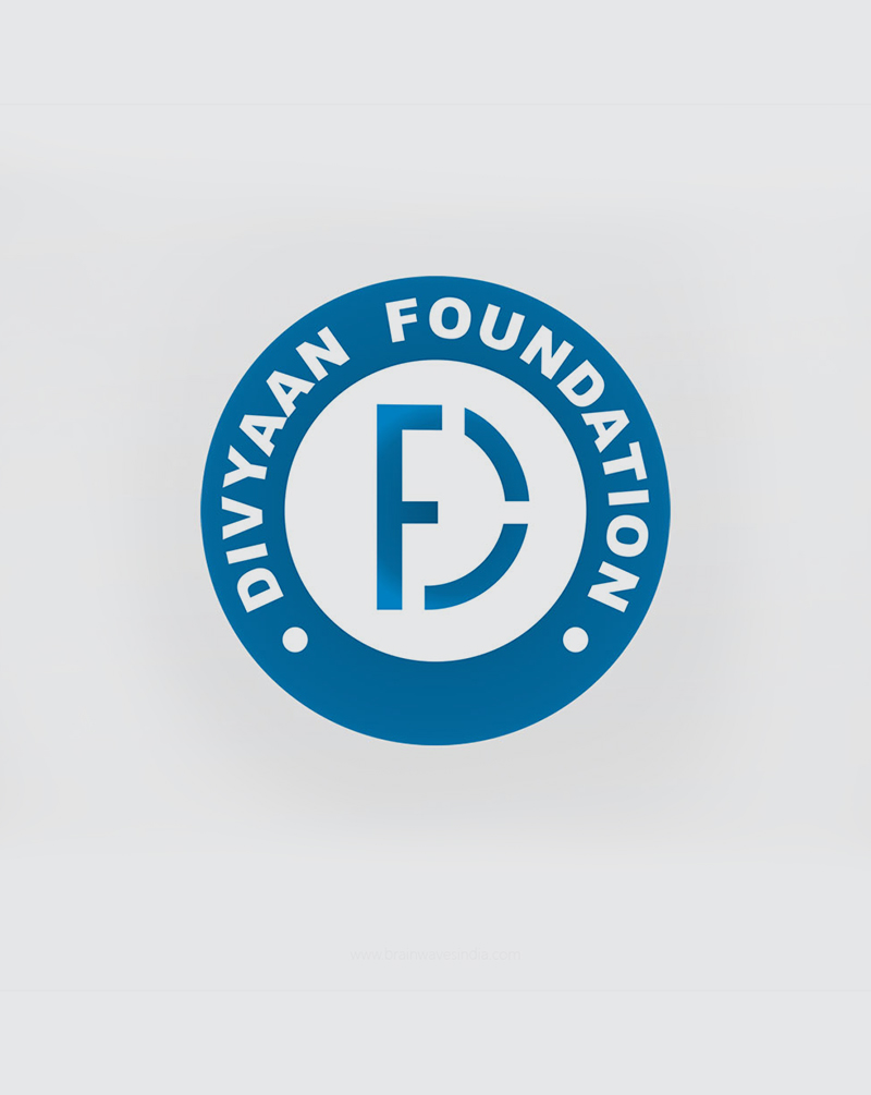 brainwaves – logo design – divyaan foundation