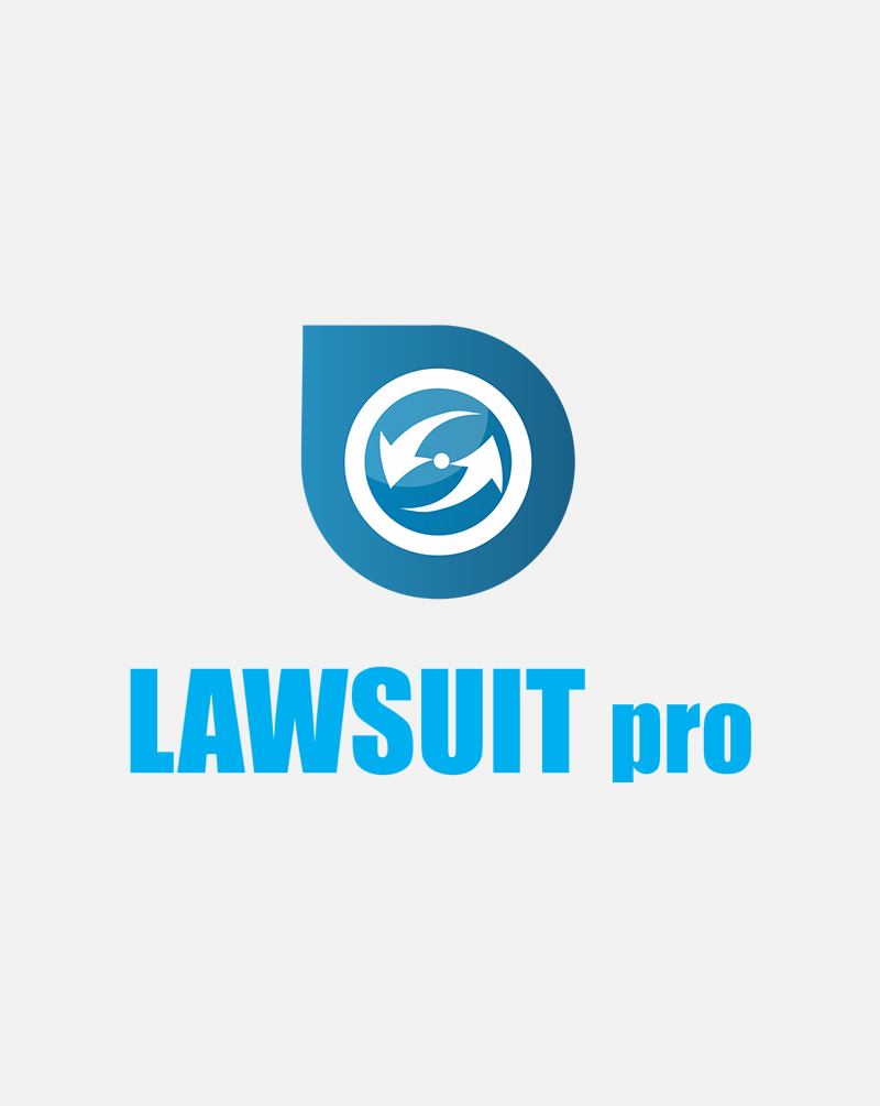 brainwaves – logo design – lawsuit pro