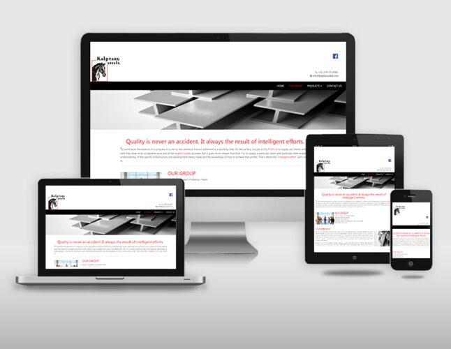 brainwaves - web design - Kalptaru dteels